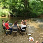 creek party